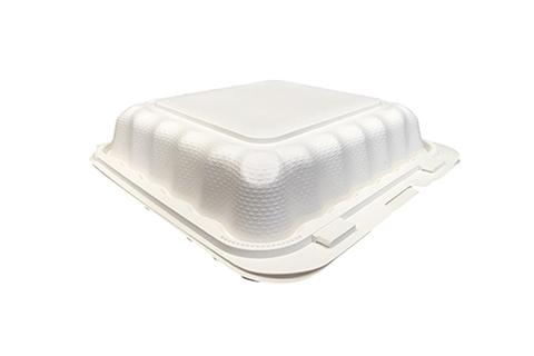 Ivory Polypropylene PP Plastic Pebble Box 8 inches hinged container